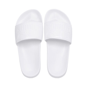 Thumbnail 6 of Women's Leadcat Patent Slide Sandals, Puma White-Puma White, medium
