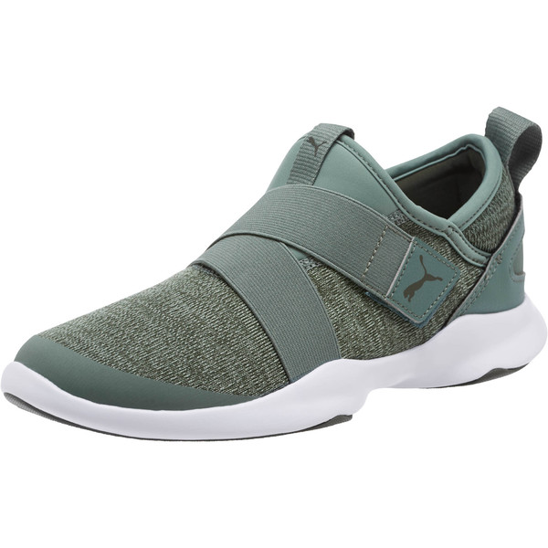 Puma Dare AC Sneakers, Laurel Wreath-Forest Night, large