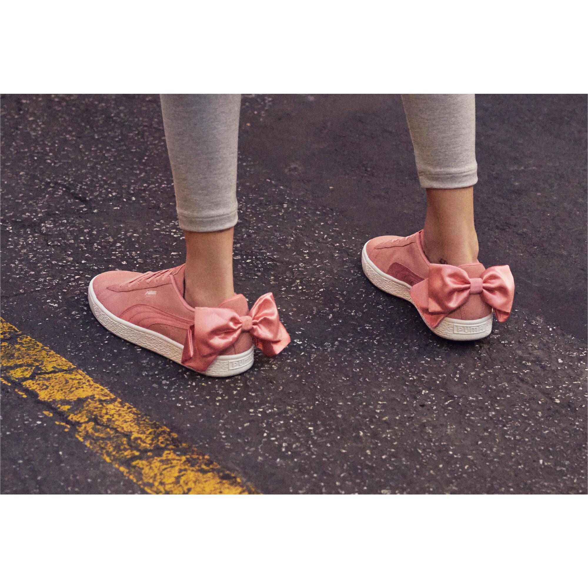 Indexbild 6 - PUMA Suede Bow Damen Frauen Schuhe Sport Classics Neu
