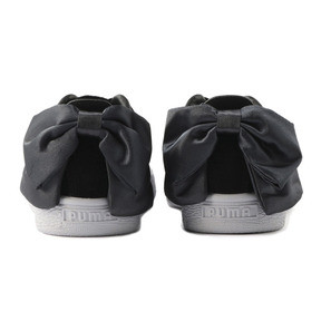 Thumbnail 4 of Suede Bow Women's Sneakers, Puma Black-Iron Gate, medium