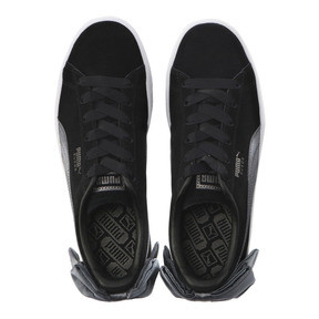 Thumbnail 6 of Suede Bow Women's Sneakers, Puma Black-Iron Gate, medium