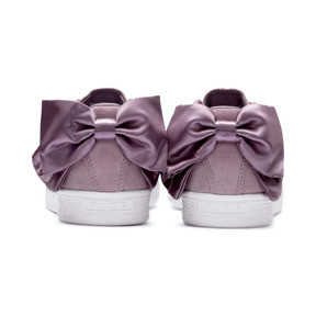 Thumbnail 3 of Suede Bow Damen, Elderberry-Puma White, medium
