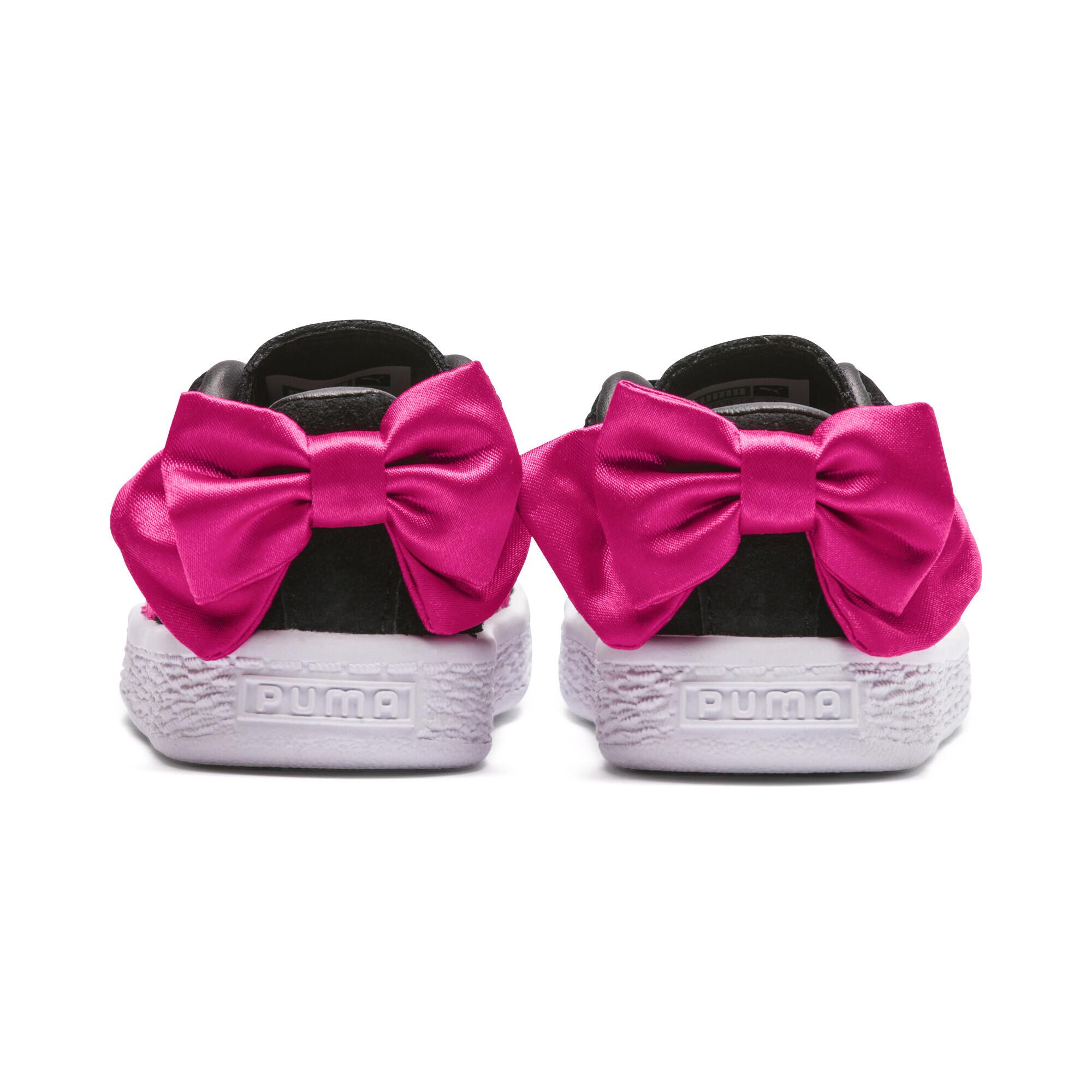Image Puma Suede Bow Kids' Preschool Sneakers #4