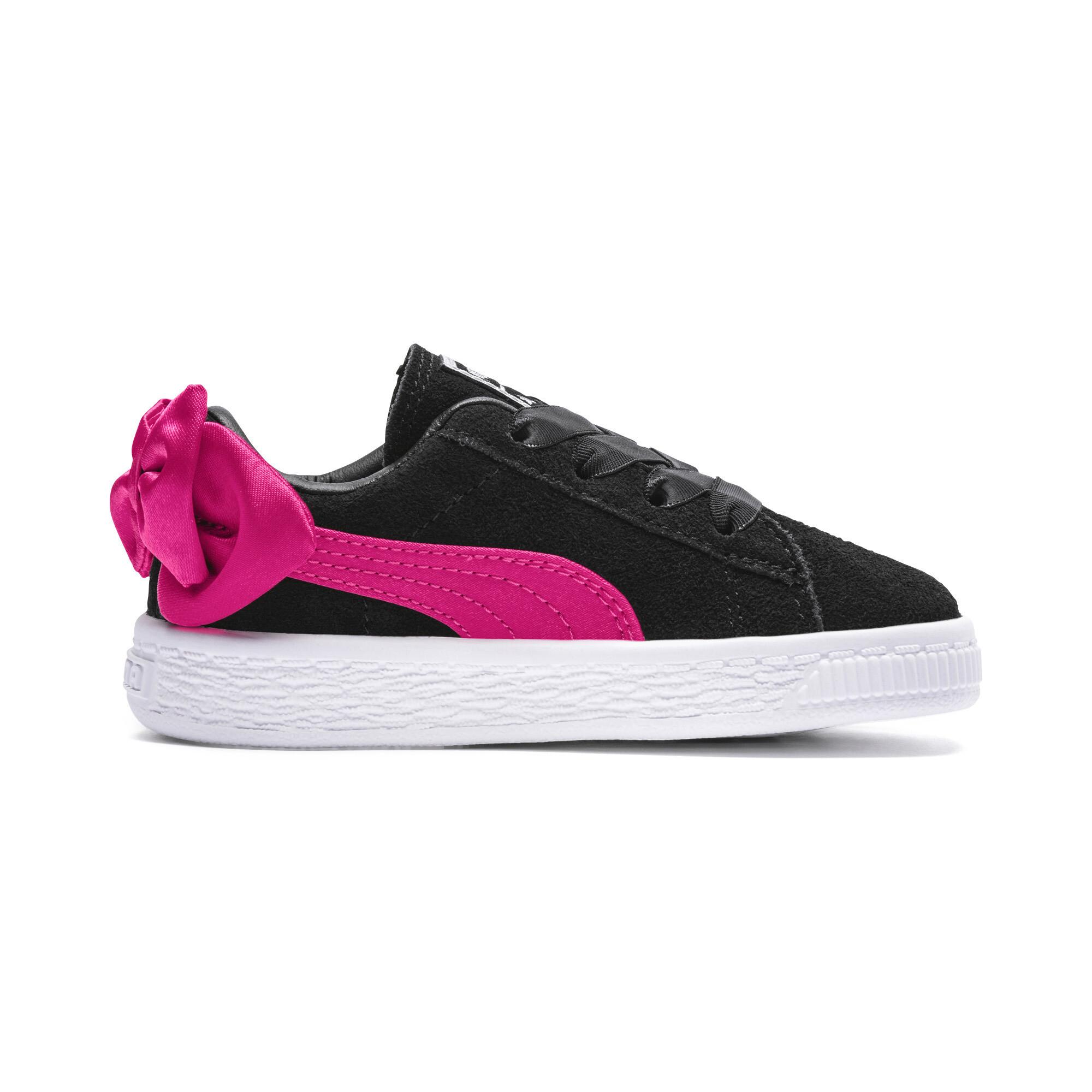 Image Puma Suede Bow Kids' Preschool Sneakers #5