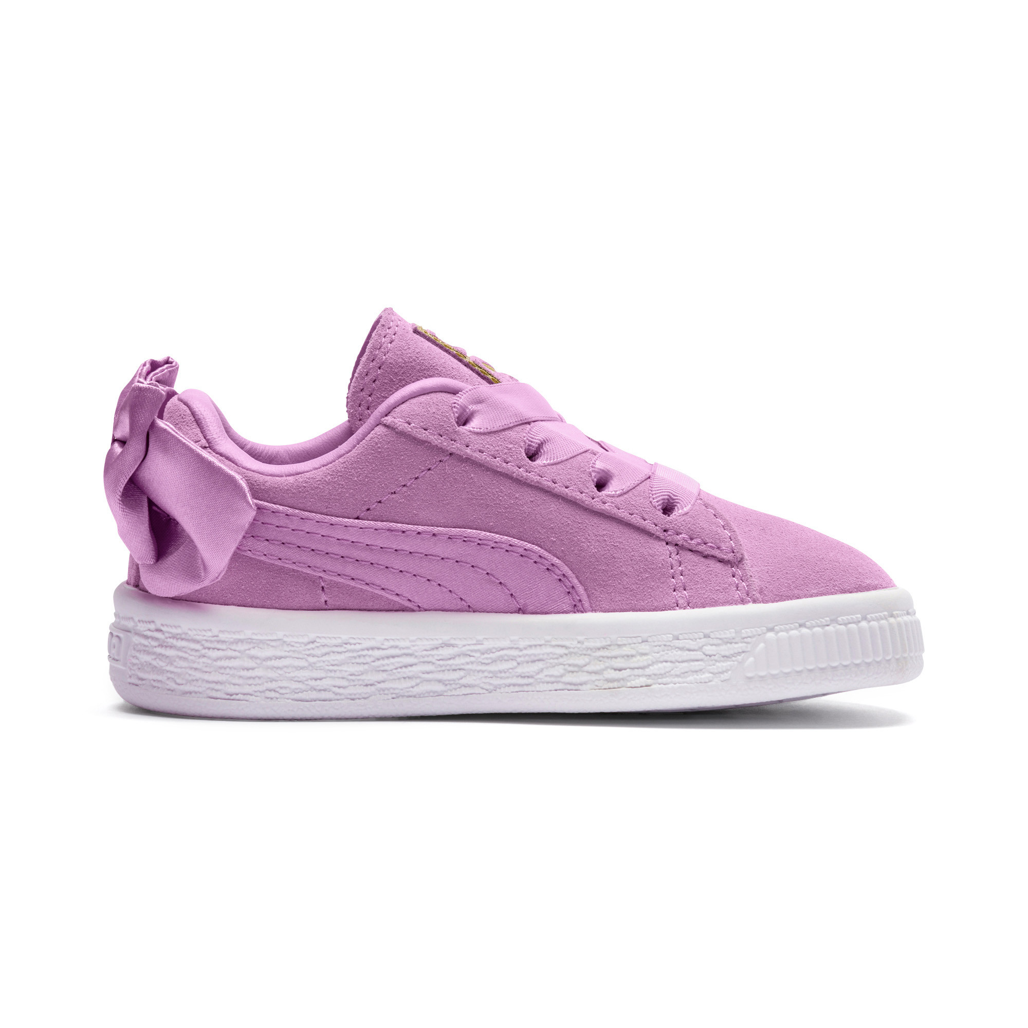 Image Puma Suede Bow Kids' Preschool Sneakers #5