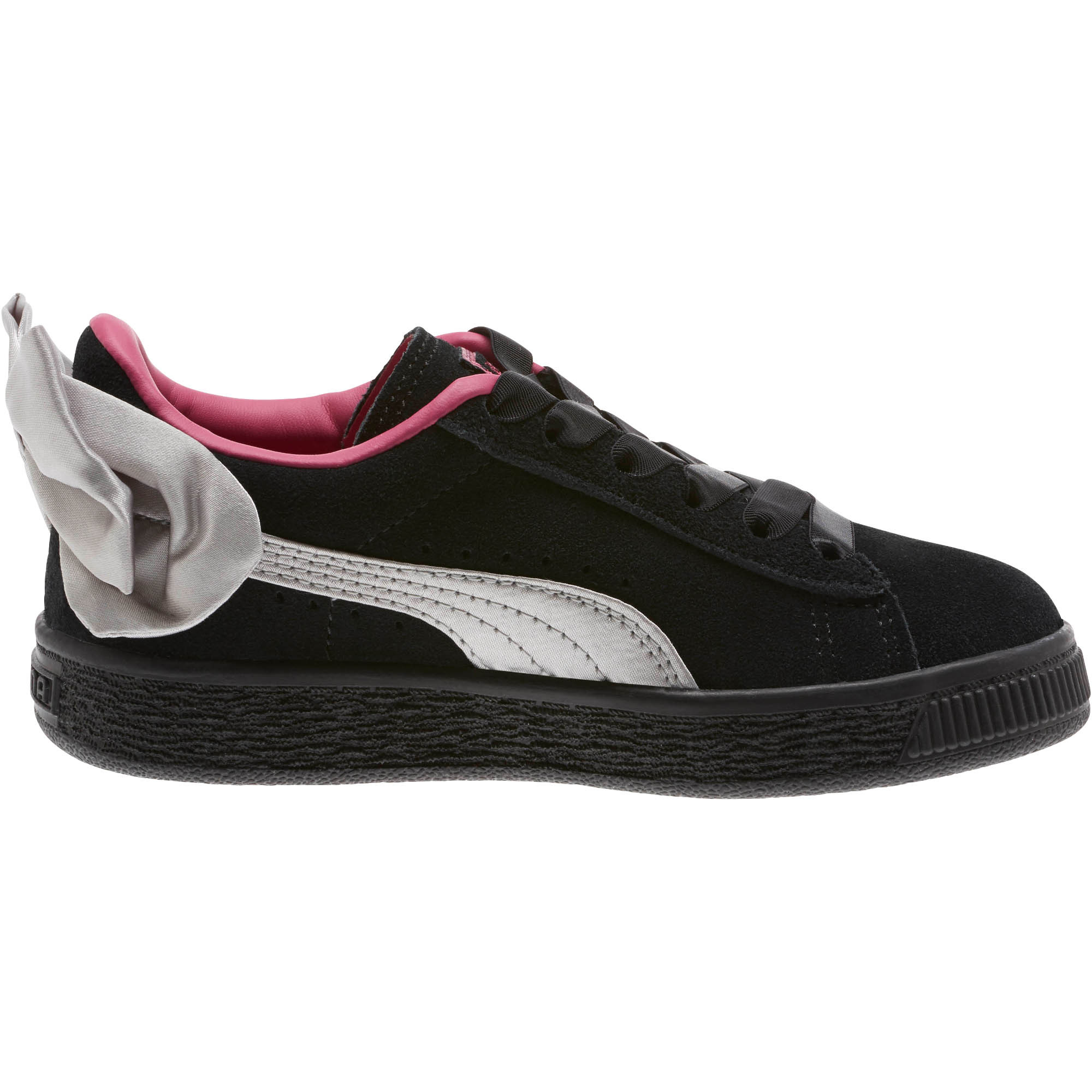 PUMA-Suede-Bow-AC-Little-Kids-039-Shoes-Girls-Shoe-Kids thumbnail 10
