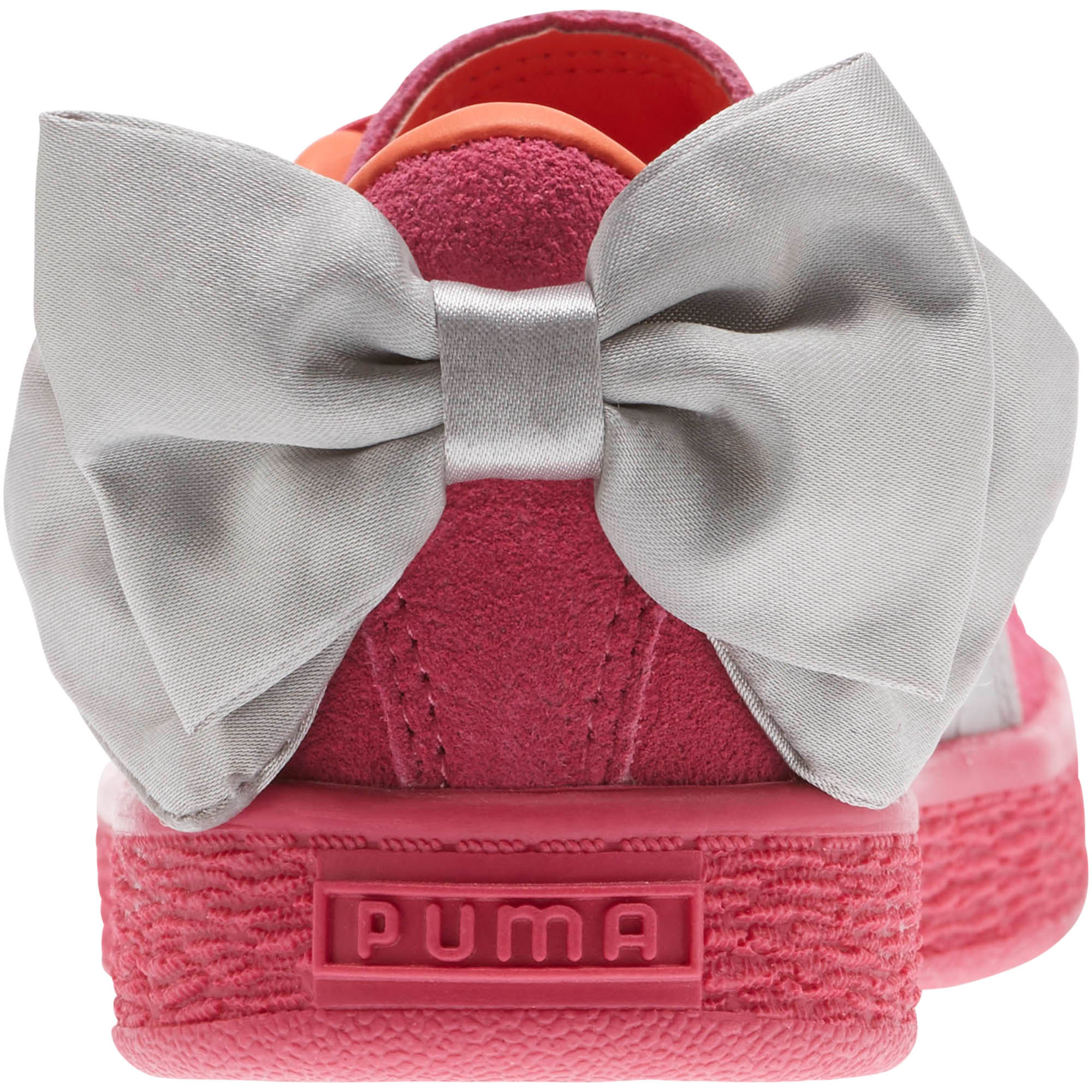 PUMA-Suede-Bow-AC-Little-Kids-039-Shoes-Girls-Shoe-Kids thumbnail 3