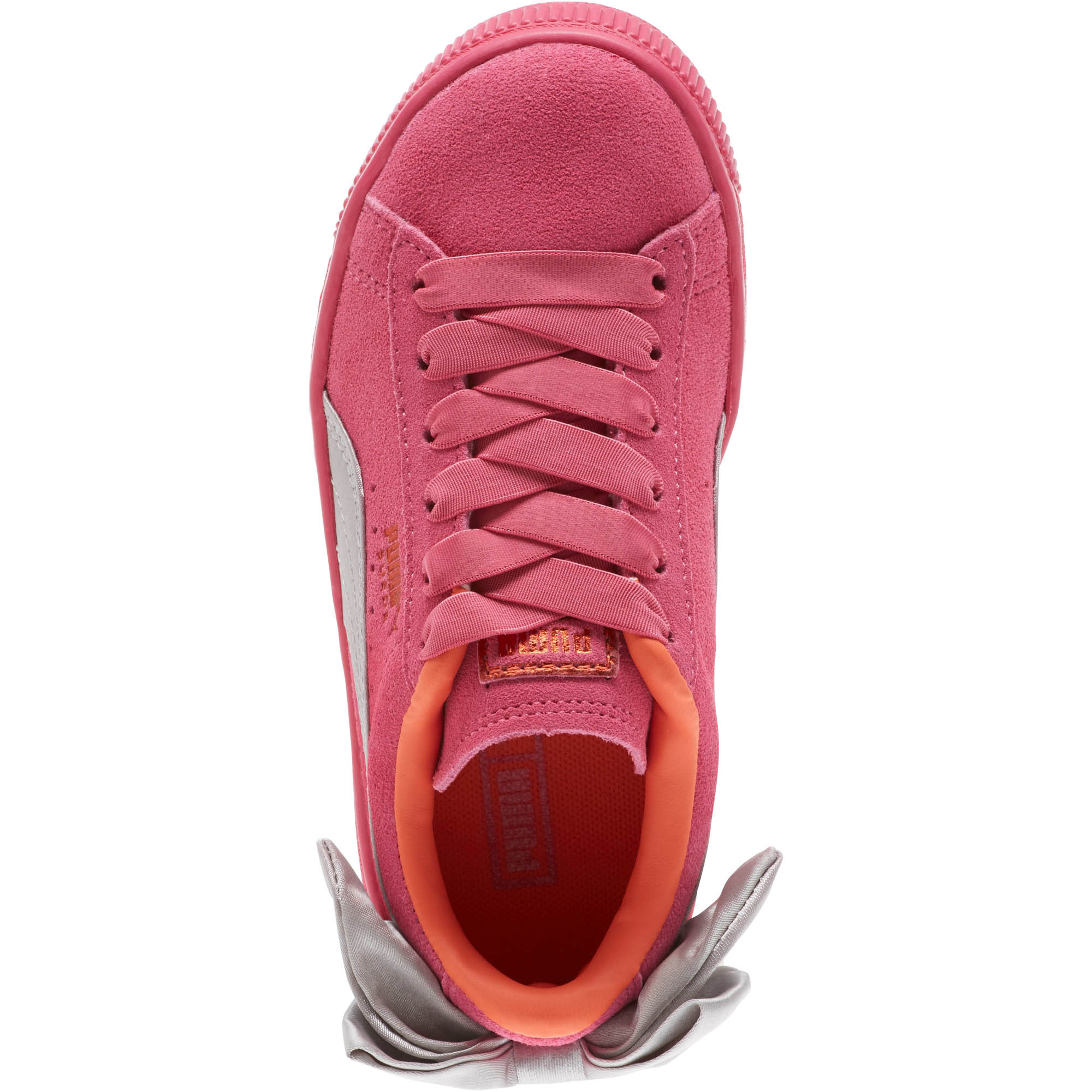 PUMA-Suede-Bow-AC-Little-Kids-039-Shoes-Girls-Shoe-Kids thumbnail 6