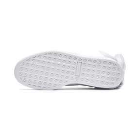 Thumbnail 3 of Basket Women's Bow Trainers, Puma White-Puma White, medium