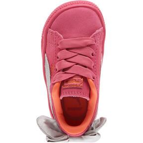 Miniatura 5 de Zapatos Suede Bow para bebé, Fuchsia Purple-Nasturtium, mediano