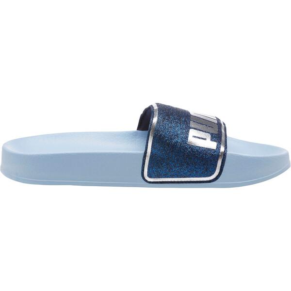 Leadcat Glow Slides JR, CERULEAN-Peacoat-Puma Silver, large