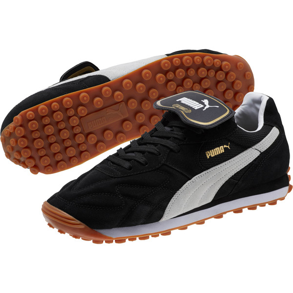 King Avanti Soccer Cleats, Puma Black-Puma White, large