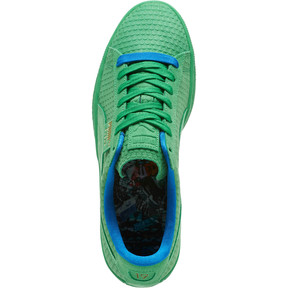 Thumbnail 5 of Suede Classic Archive AOP Sneakers, Kelly Green-Puma Team Gold, medium