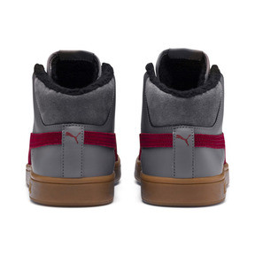 Thumbnail 4 of Smash v2 Mid Winterized Leather High Tops, CASTLEROCK-Rhubarb-Black-Gum, medium