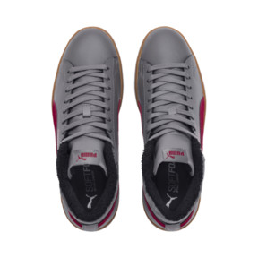Thumbnail 7 of Smash v2 Mid Winterized Leather High Tops, CASTLEROCK-Rhubarb-Black-Gum, medium