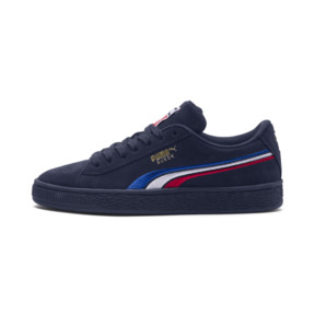 Suede Classic Multicolour Embroidery JR Sneakers