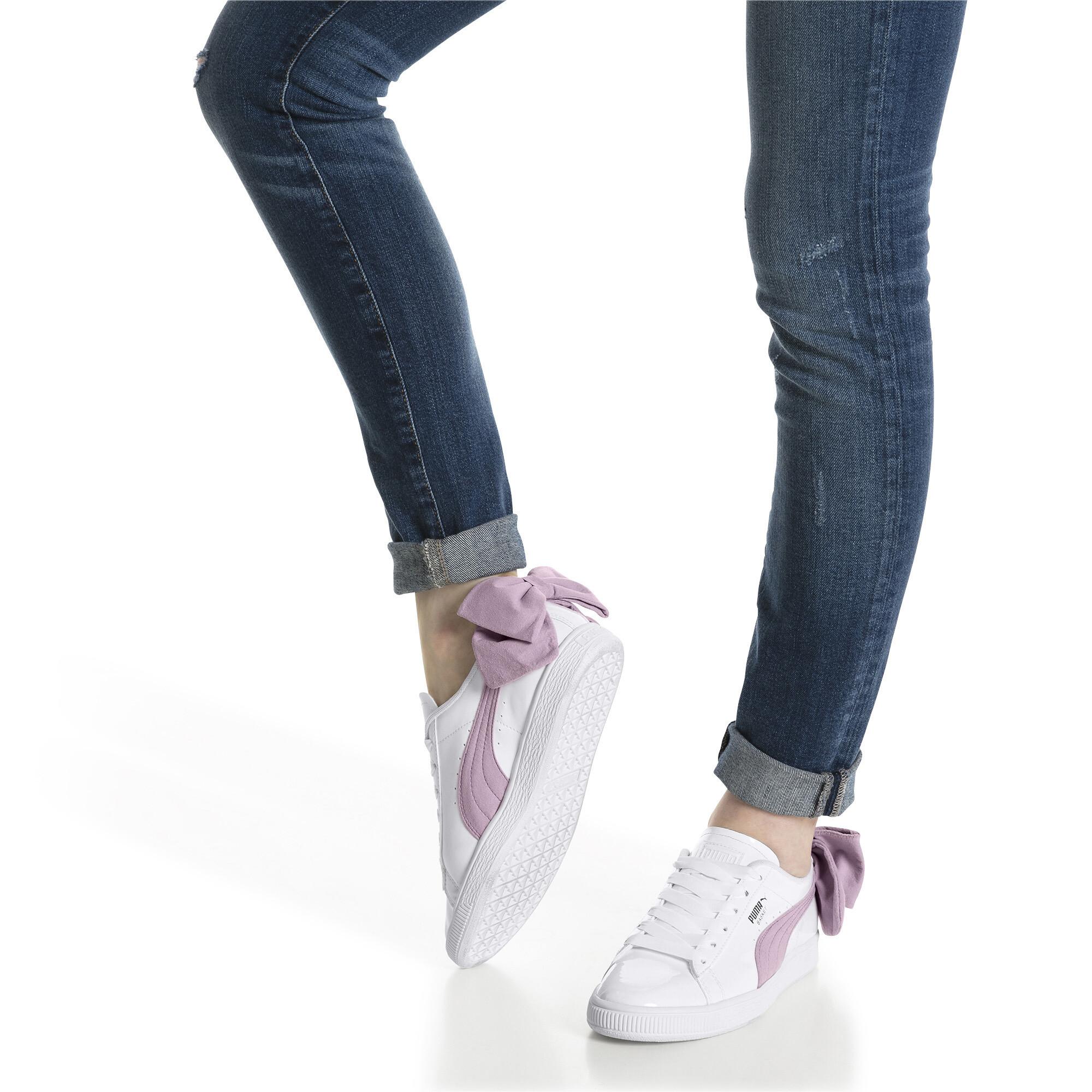 détaillant en ligne 9d405 6ced6 Details about PUMA Basket Suede Bow Women's Sneakers Women Shoe Sport  Classics