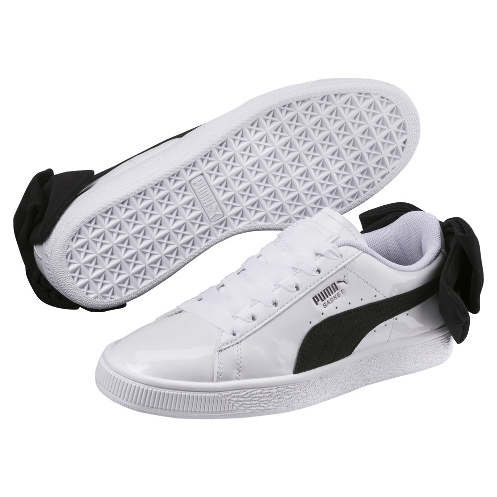 Image Puma Basket Suede Bow Women's Sneakers #2