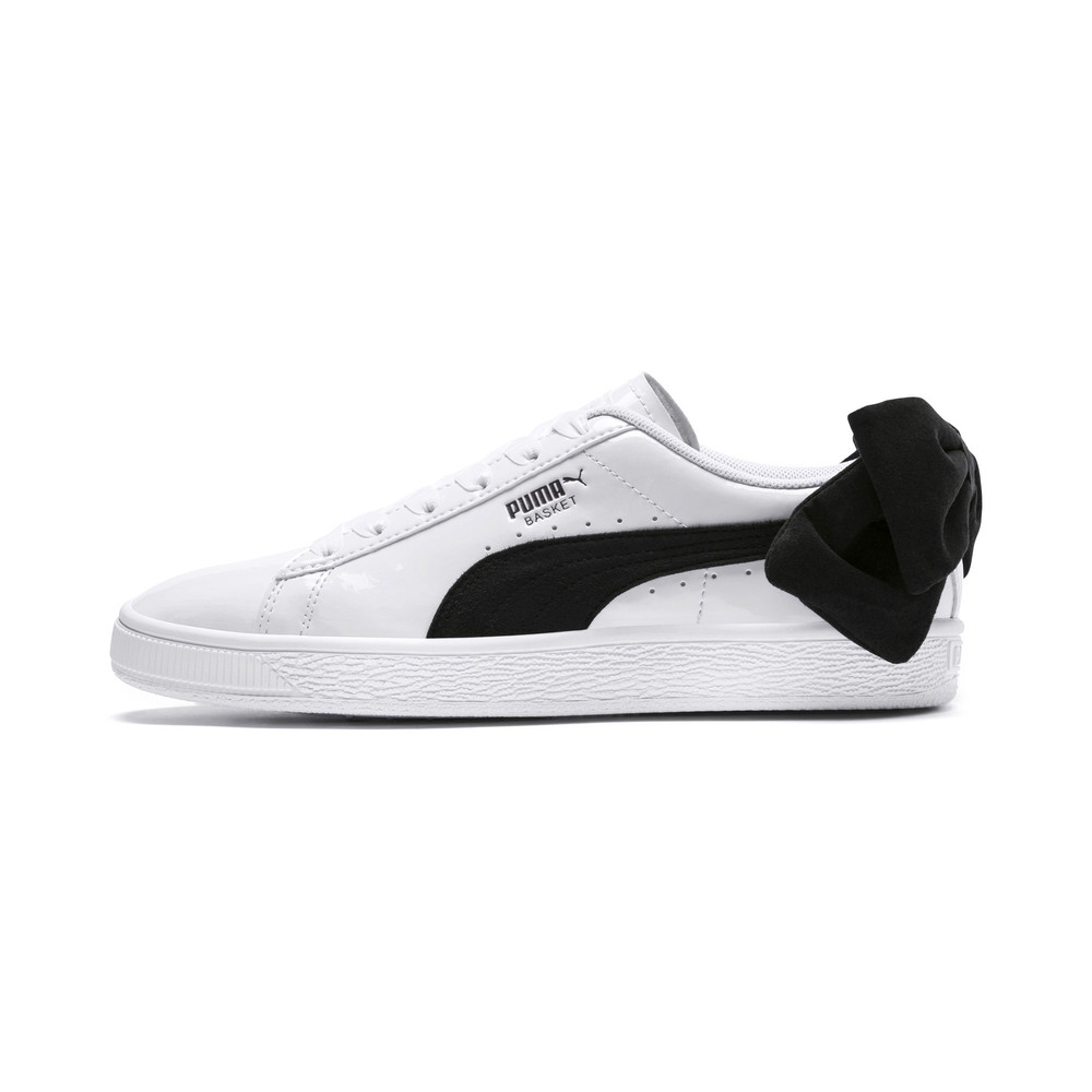 Image PUMA Basket Suede Bow Women's Sneakers #1