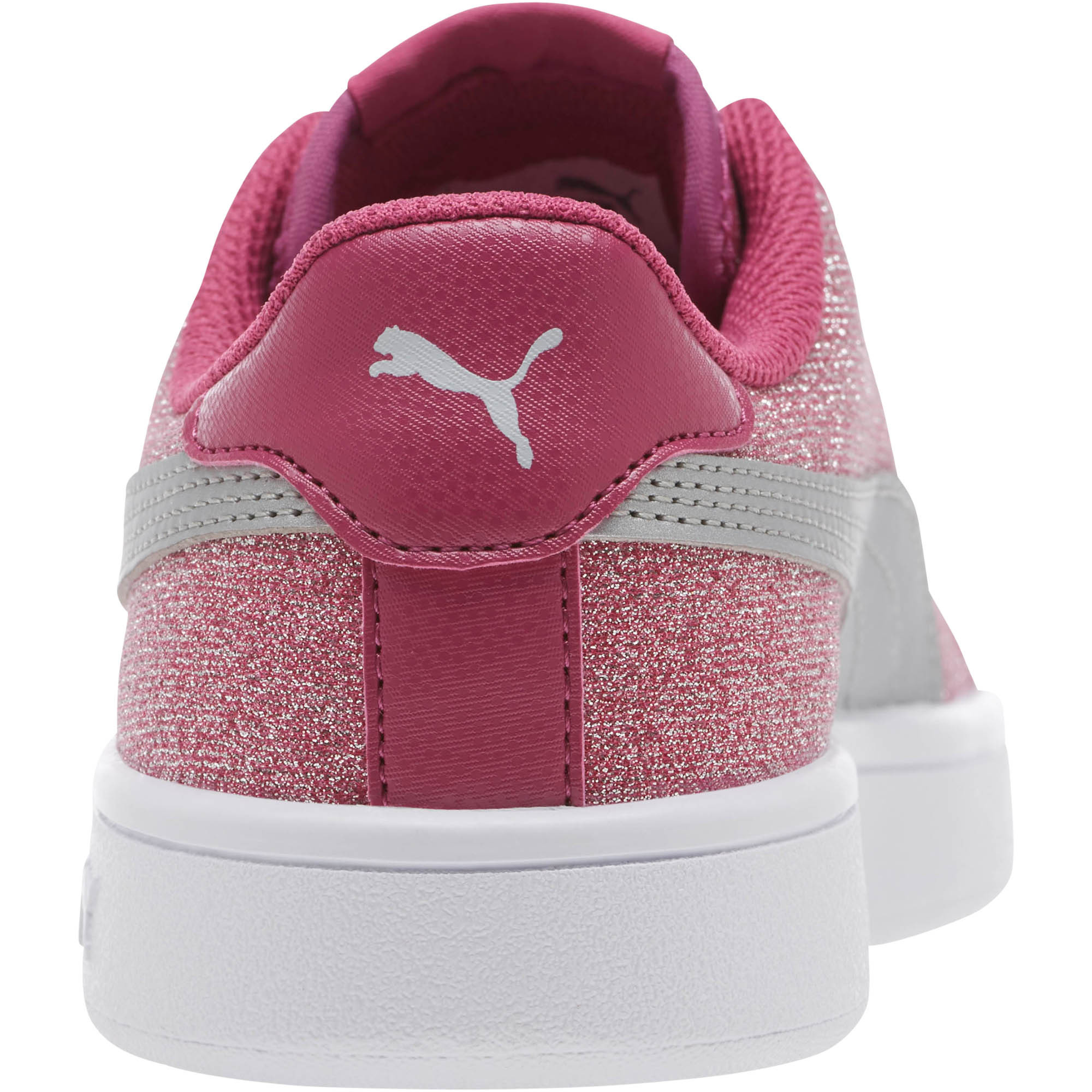 PUMA-Smash-v2-Glitz-Glam-Sneakers-JR-Girls-Shoe-Kids thumbnail 8