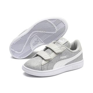 Görüntü Puma Smash v2 GLITZ GLAM Bantlı Çocuk Ayakkabı