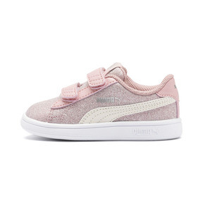 PUMA Smash v2 Glitz Glam Baby Girls' Trainers