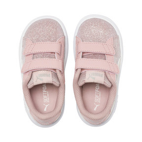 Thumbnail 6 of Smash v2 Glitz Glam V Toddler Shoes, B Rose-P Parchment-Silv-Wht, medium