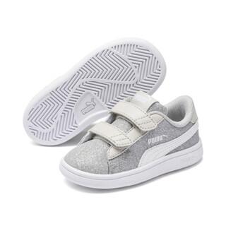 Görüntü Puma Smash v2 GLITZ Glam Bantlı Bebek Ayakkabı