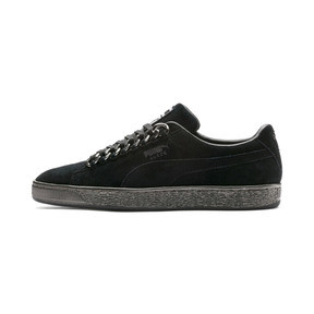 Thumbnail 1 of SUEDE CLASSIC X CHAIN, Puma Black-Puma Black, medium-JPN