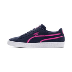 Thumbnail 1 of Suede Classic X-Hollows Sneakers, Peacoat-PINK-White, medium