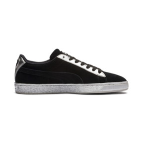 Thumbnail 5 of Suede Classic Metallic, Puma Black-Puma Silver, medium