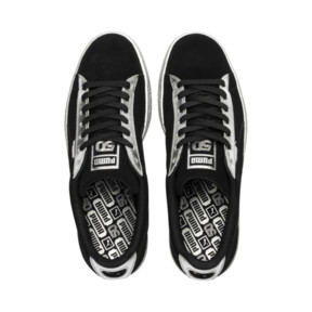 Thumbnail 6 of Suede Classic Metallic, Puma Black-Puma Silver, medium