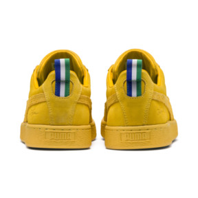 Thumbnail 4 of PUMA x BIG SEAN Suede Spectra Trainers, Spectra Yellow, medium