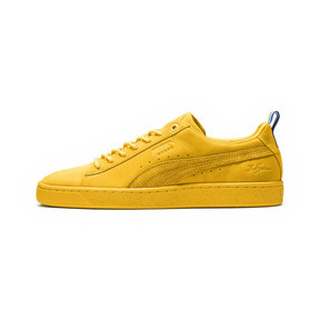 Thumbnail 1 of PUMA x BIG SEAN Suede Spectra Trainers, Spectra Yellow, medium