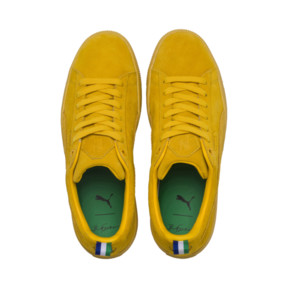 Thumbnail 7 of PUMA x BIG SEAN Suede Spectra Trainers, Spectra Yellow, medium