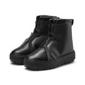 Thumbnail 2 of Platform Trace Women's Rain Boots, Puma Black-Puma Black, medium