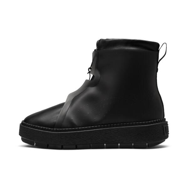 Platform Trace Women's Rain Boots, Puma Black-Puma Black, large
