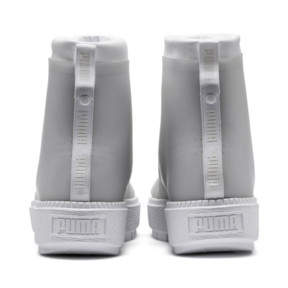 Thumbnail 4 of Platform Trace Women's Rain Boots, Puma White-Gray Violet, medium