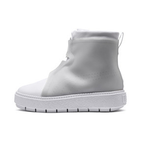 Thumbnail 1 of Platform Trace Women's Rain Boots, Puma White-Gray Violet, medium