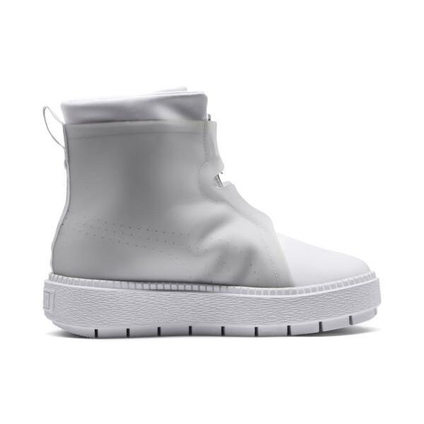 Platform Trace Women's Rain Boots, Puma White-Gray Violet, large