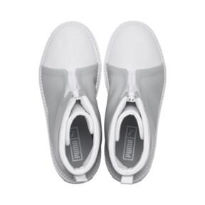 Thumbnail 6 of Platform Trace Women's Rain Boots, Puma White-Gray Violet, medium
