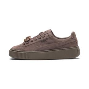 Suede Platform Gem Women's Sneakers