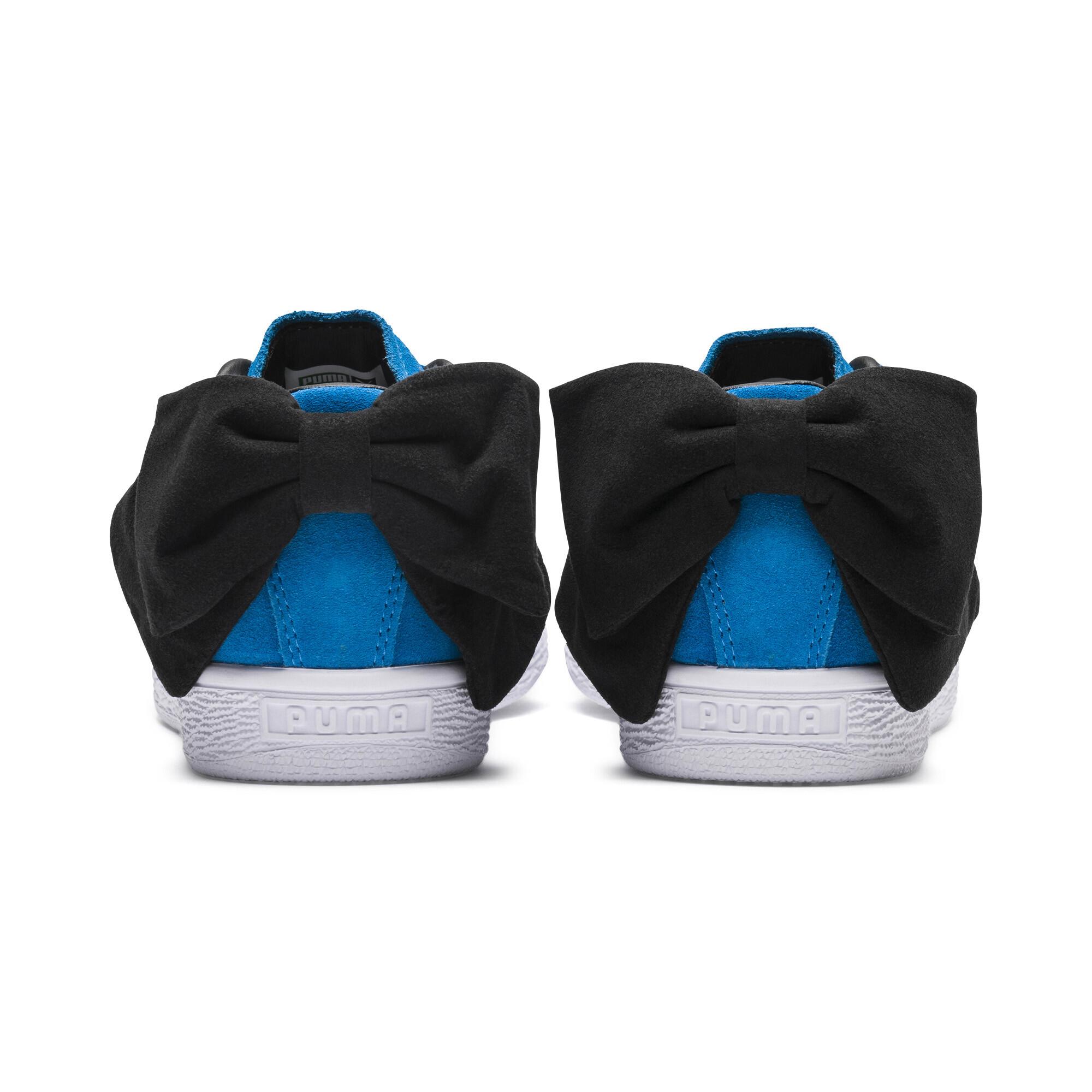 PUMA-Suede-Bow-Block-Damen-Sneaker-Frauen-Schuhe-Sport-Classics-Neu Indexbild 9