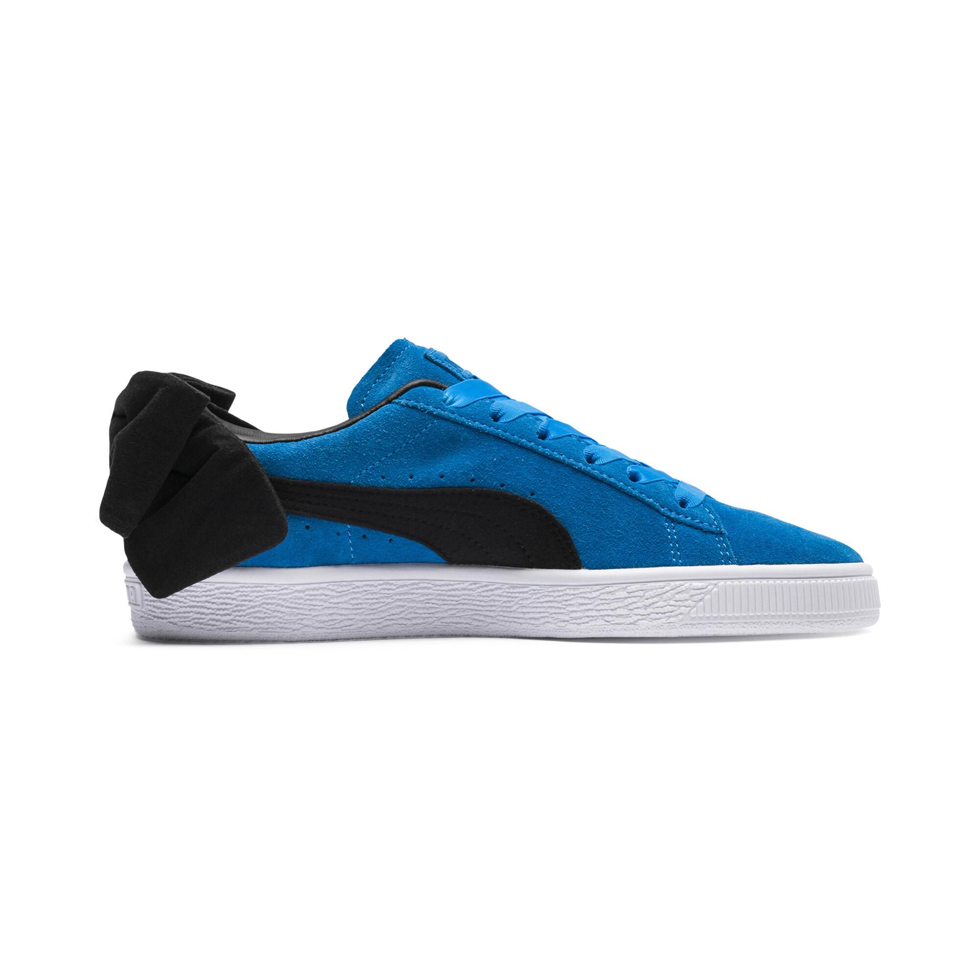PUMA-Suede-Bow-Block-Damen-Sneaker-Frauen-Schuhe-Sport-Classics-Neu Indexbild 18