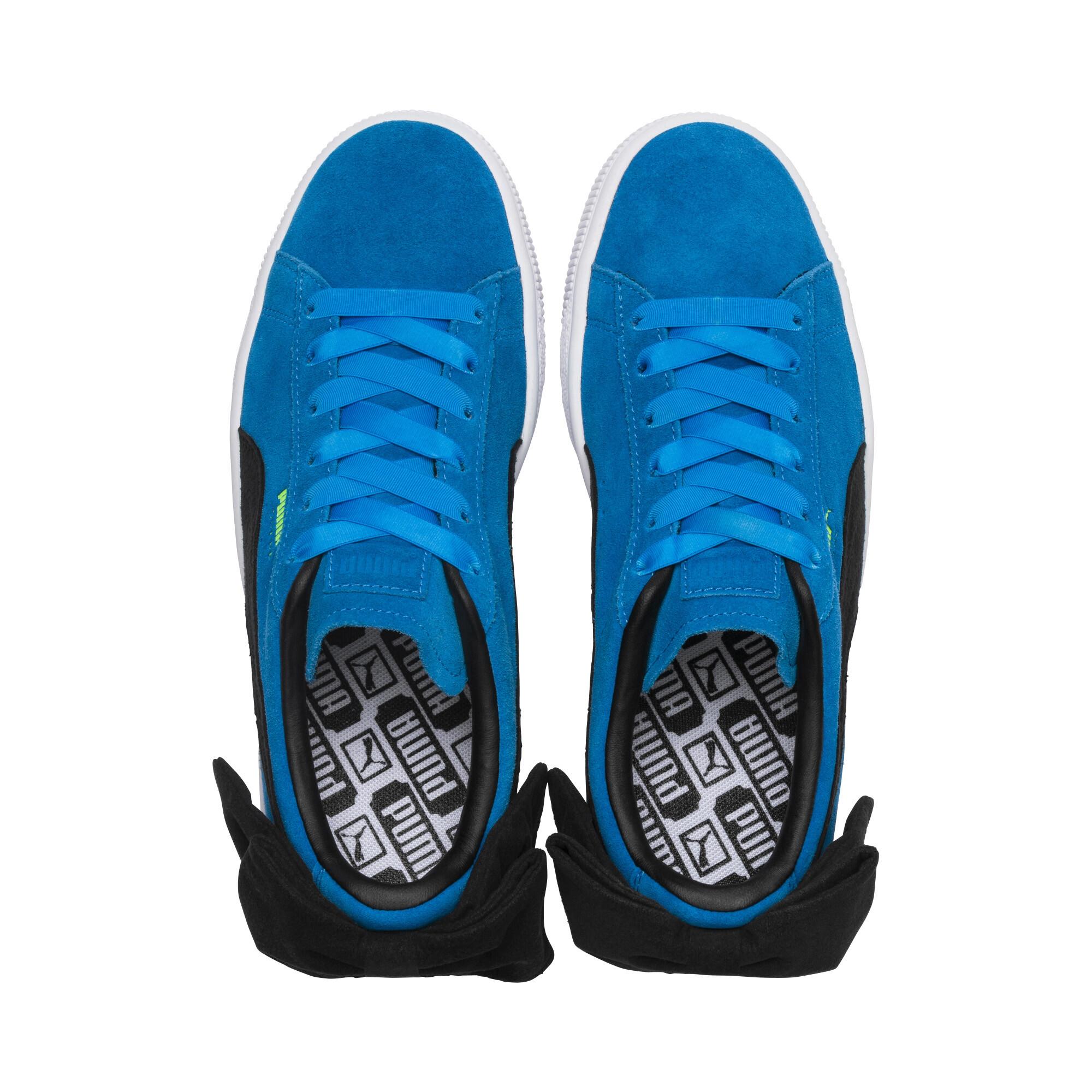 PUMA-Suede-Bow-Block-Damen-Sneaker-Frauen-Schuhe-Sport-Classics-Neu Indexbild 13