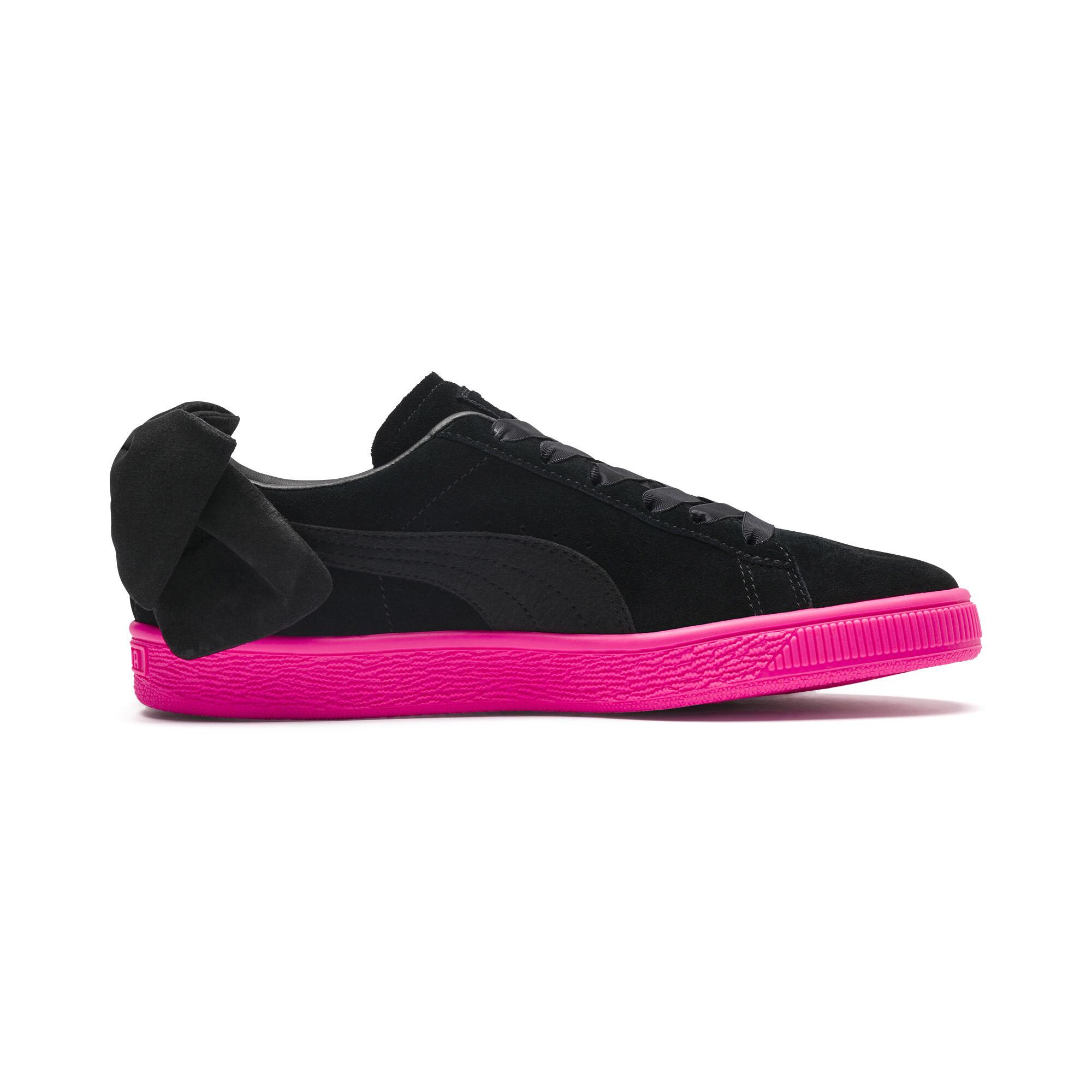 PUMA-Suede-Bow-Block-Damen-Sneaker-Frauen-Schuhe-Sport-Classics-Neu Indexbild 6