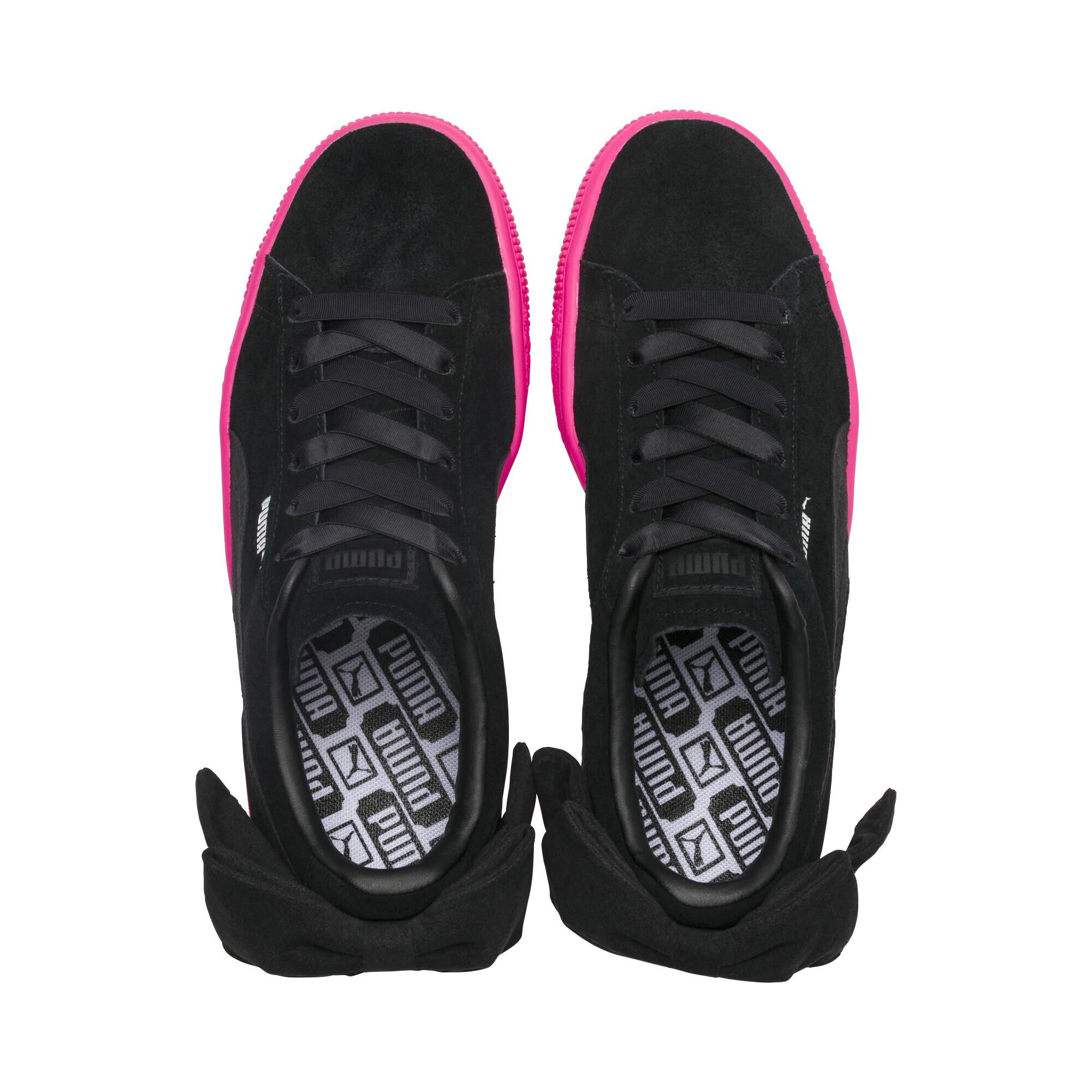 PUMA-Suede-Bow-Block-Damen-Sneaker-Frauen-Schuhe-Sport-Classics-Neu Indexbild 7