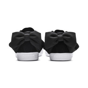 Thumbnail 4 of Suede Bow Uprising Women's Sneakers, 01, medium