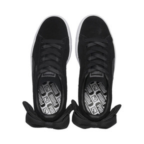 Thumbnail 6 of Suede Bow Uprising Women's Sneakers, 01, medium