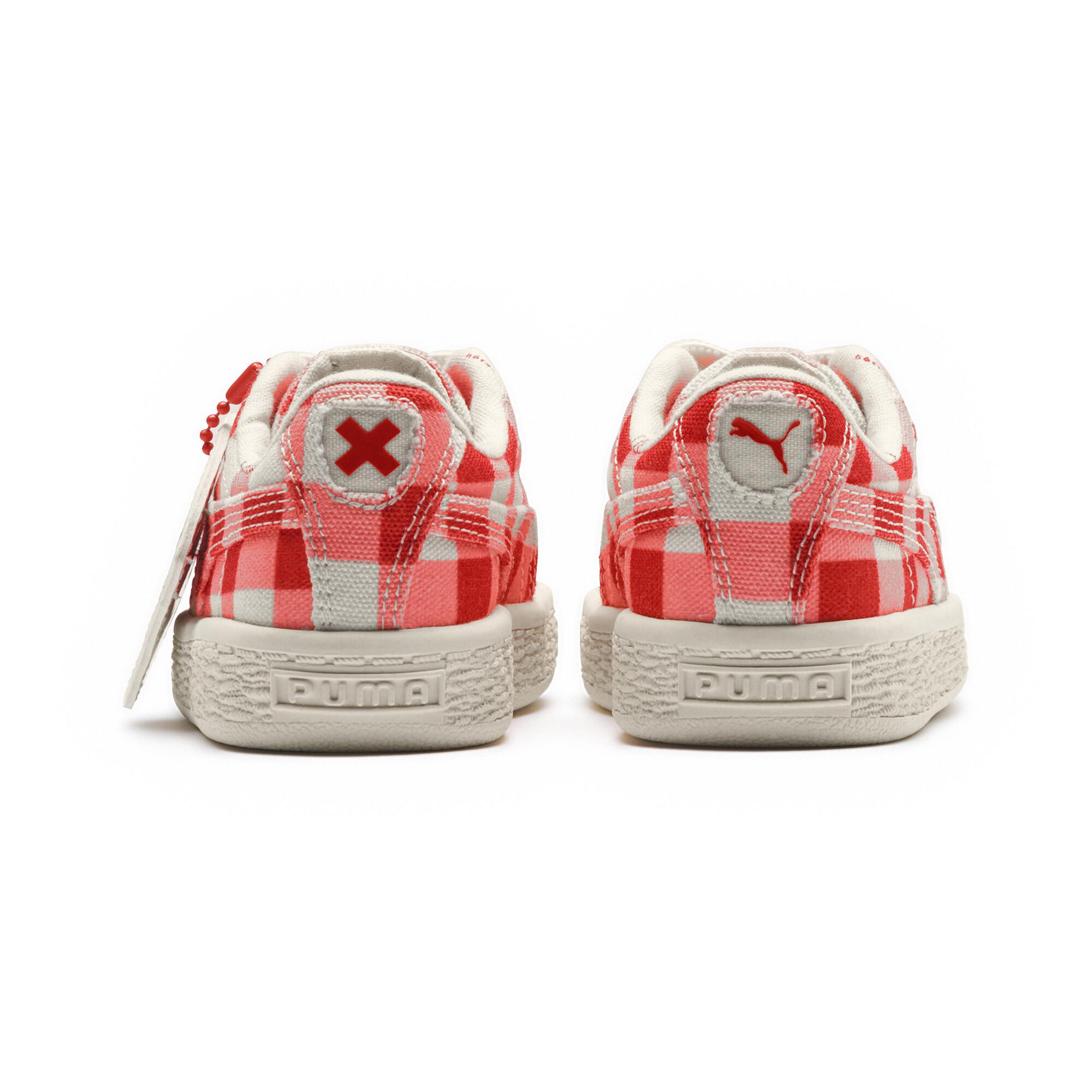 Image Puma PUMA x TINYCOTTONS Kids' Pre School Basket Sneakers #4